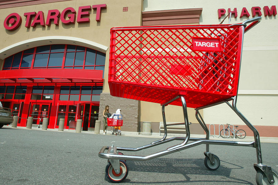 Target Corp. Reported A 4 percent increase in second-quarter profits Photograph by Alex Wong
