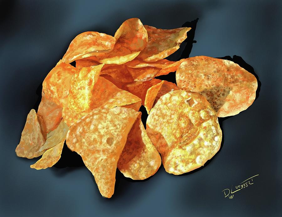 Tater Chips Speed Painted by David Luebbert