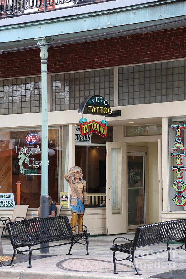 Tattoos and Cigars in Tampa by Carol Groenen