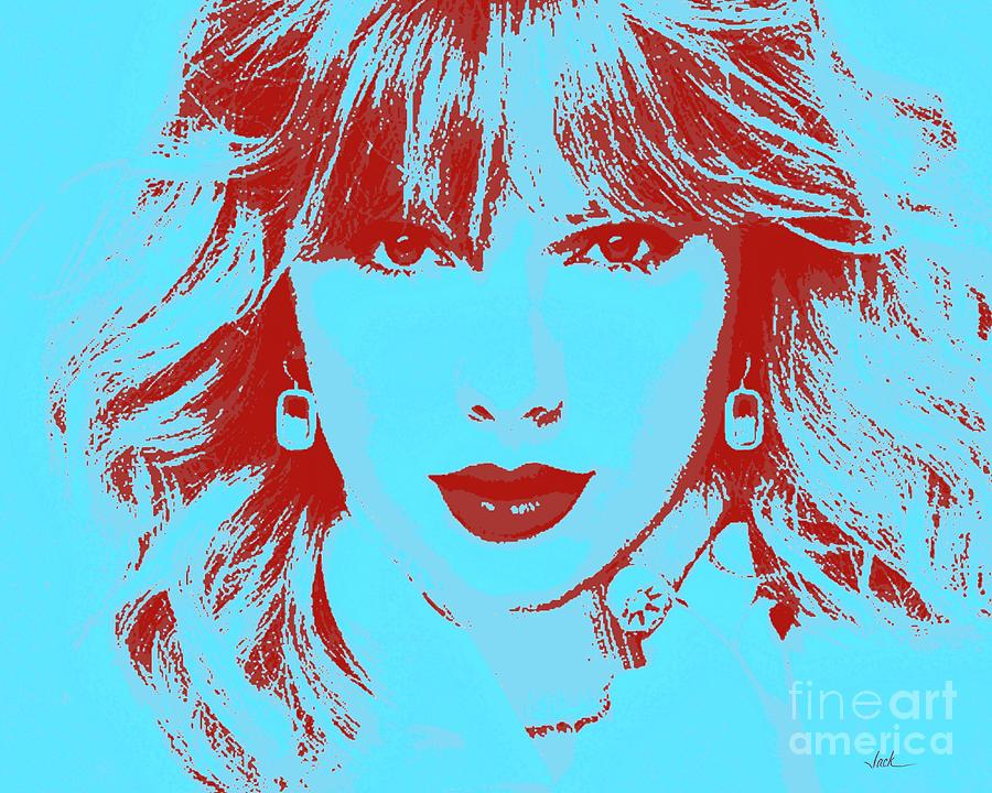 Taylor Swift Painting - Taylor Swift 2020 by Jack Bunds