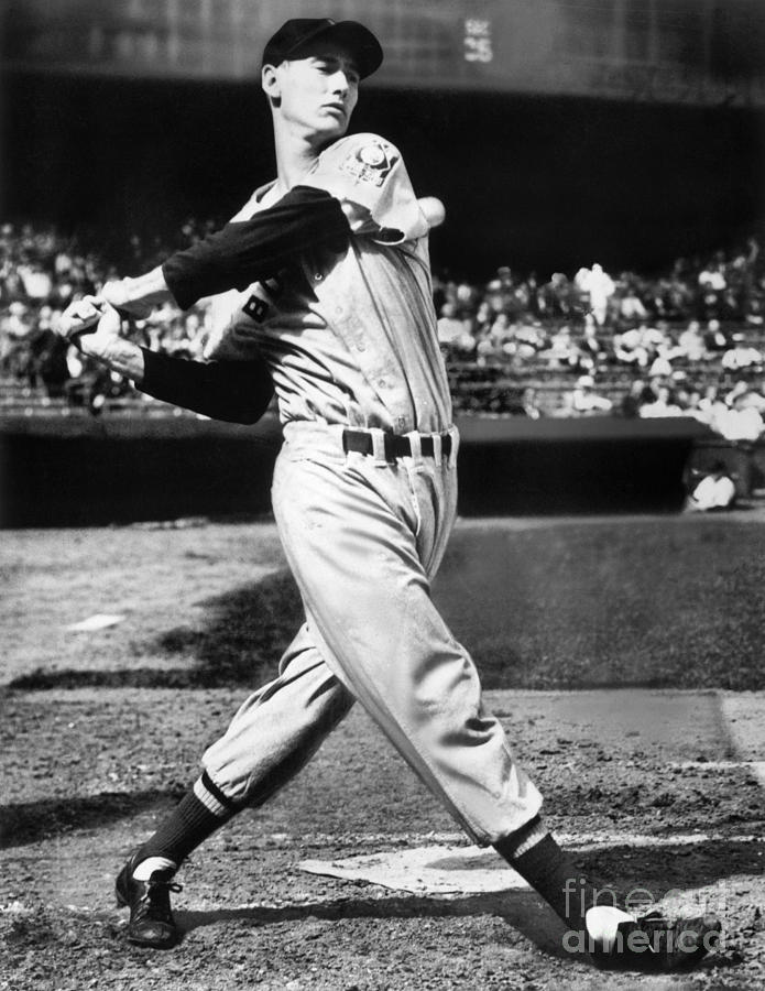 Ted Williams Photograph by National Baseball Hall Of Fame Library