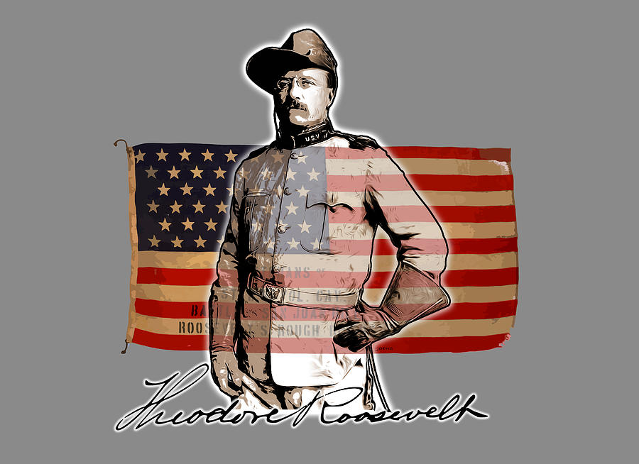 Teddy Roosevelt Digital Art