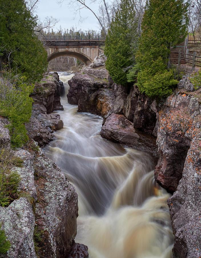 Temperance River by Paul Freidlund