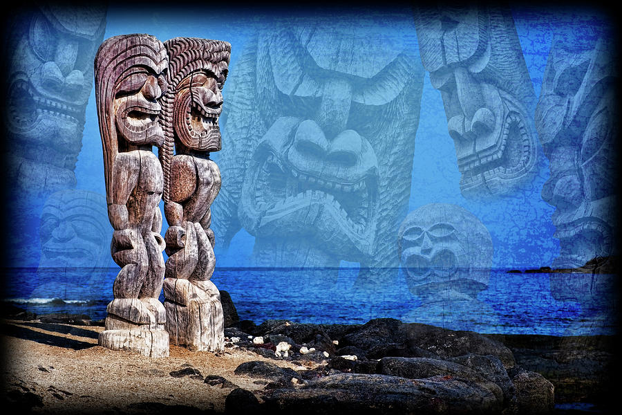 Temple Of The Tiki Photograph