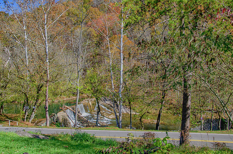 Dam Photograph - Tennessees Oldest Stone Dam  by Jim Cook