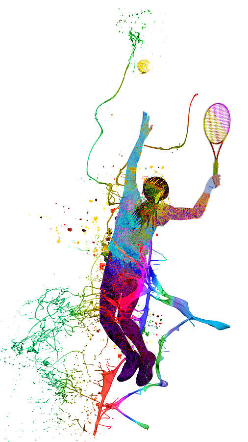 Tennis Fun 02 by Miki De Goodaboom
