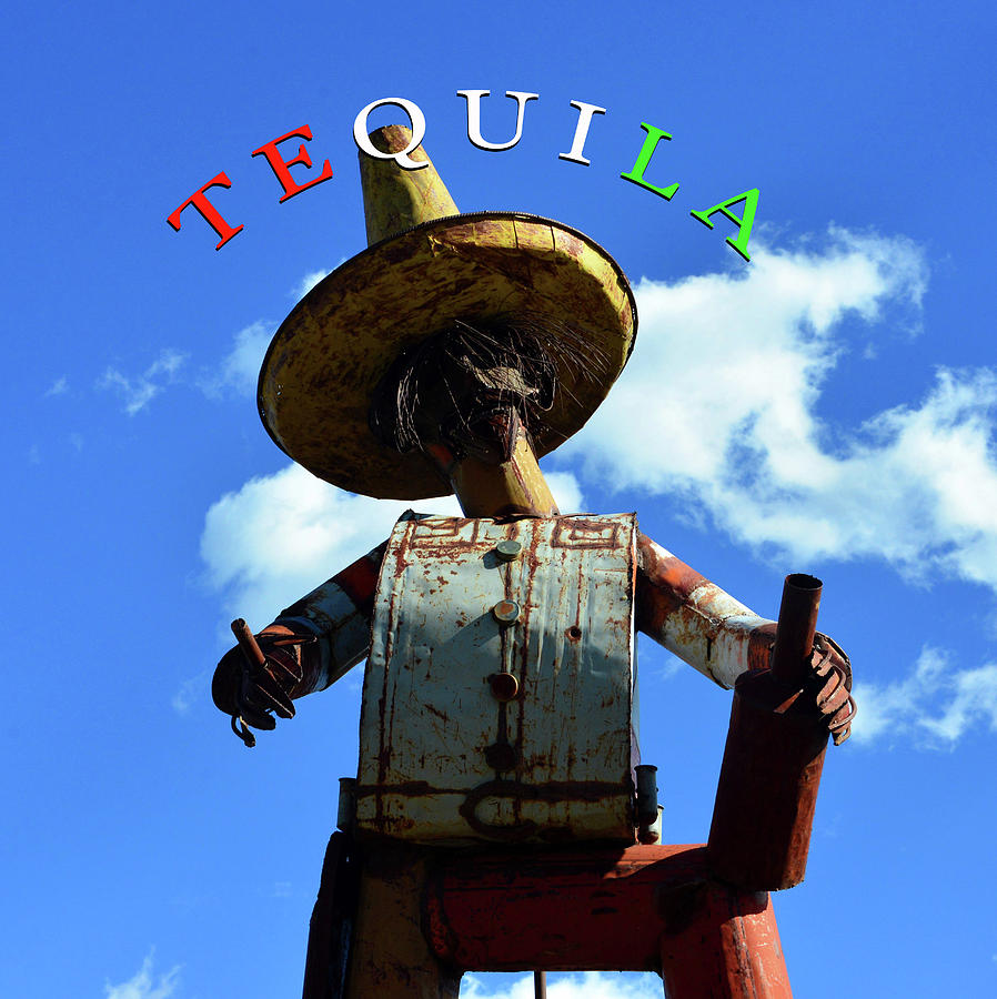 Tequila Man Mixed Media