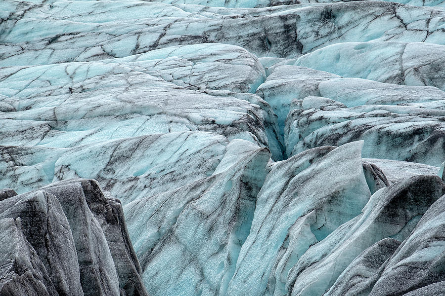 Terrain of Fjallsjokull Iceland by Catherine Reading