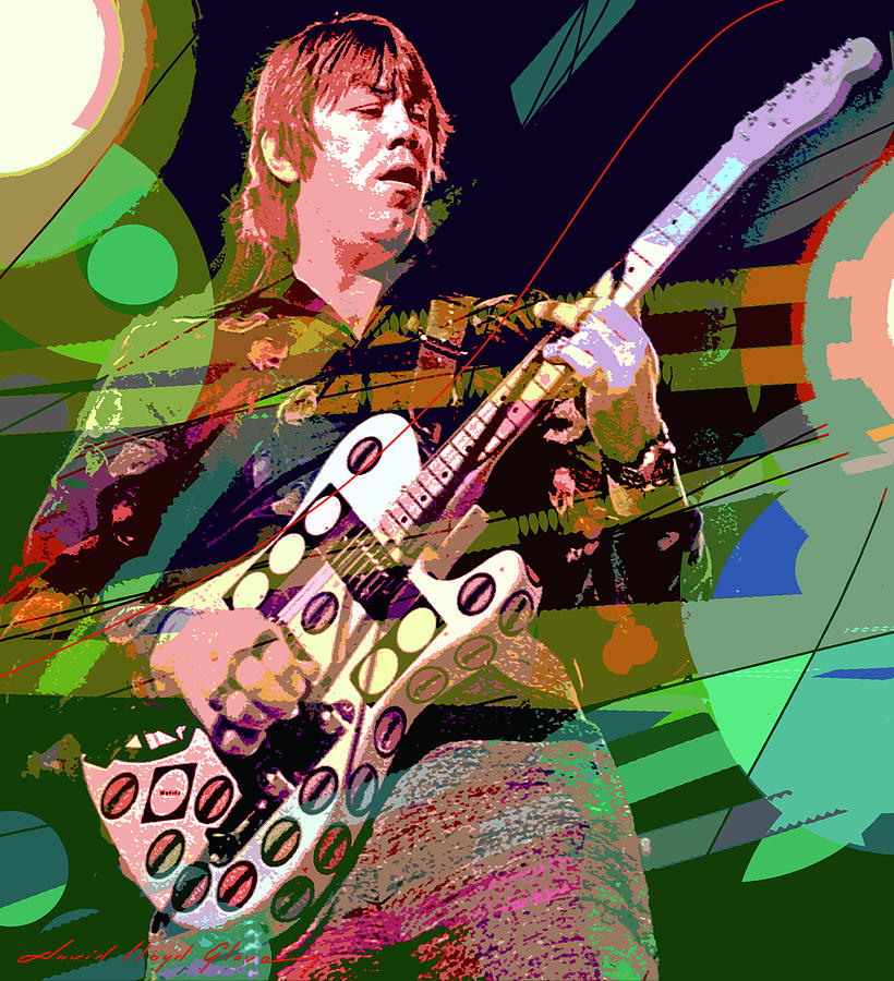 Terry Kath 25 Or 6 To 4 Painting
