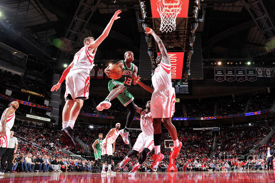 Terry Rozier Photograph by Bill Baptist