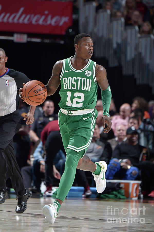 Terry Rozier Photograph by David Liam Kyle