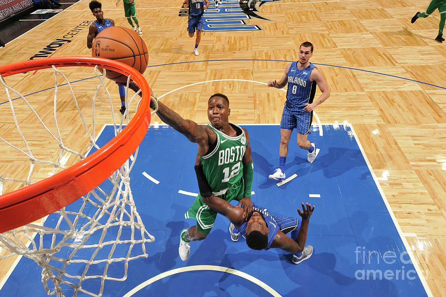 Terry Rozier Photograph by Fernando Medina
