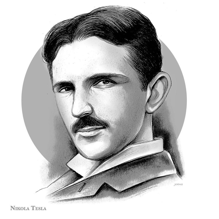 Tesla Mixed Media