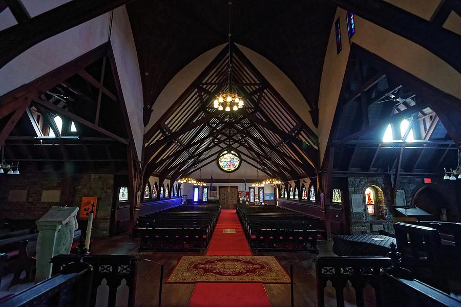 House of Worship -- Saint Saviour's Episcopal Church in Bar Harbor, Maine by Darin Volpe