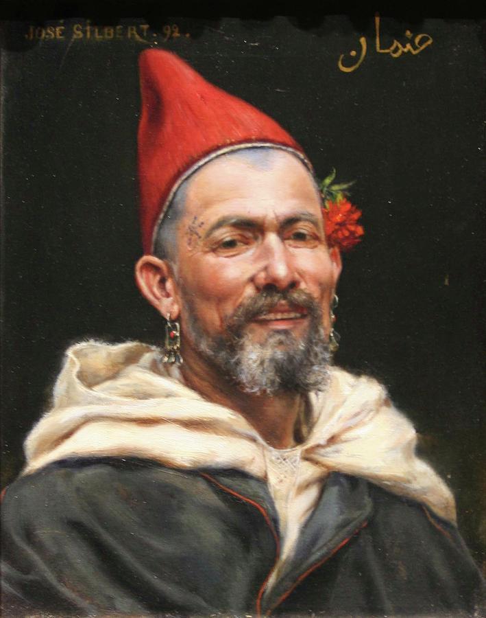 Tete De Marocain Painting
