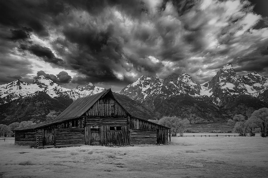 Teton Barn under the Sky by Jon Glaser
