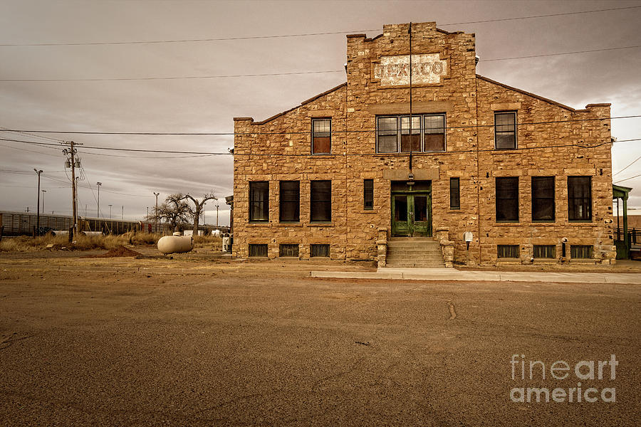 Texaco Stone Building by Imagery by Charly