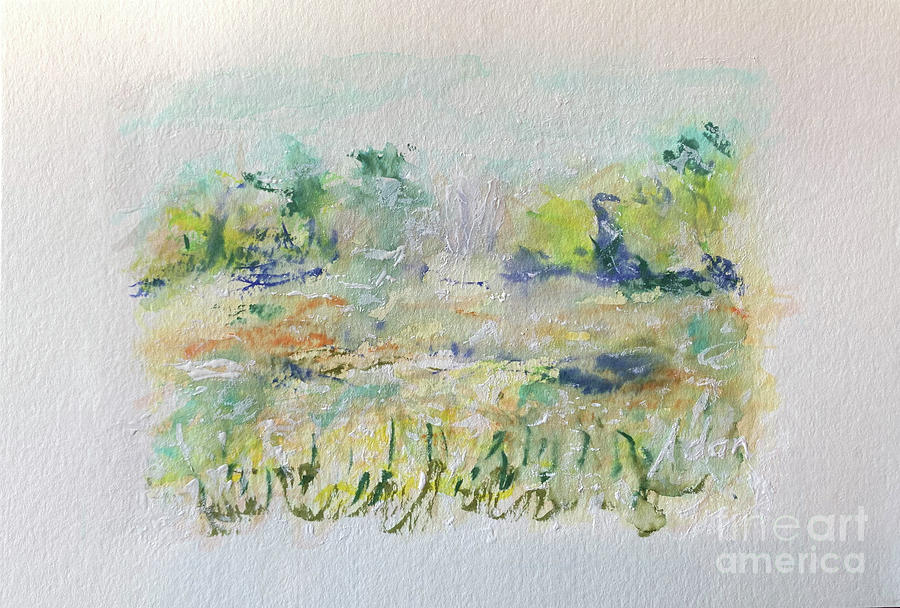 Texas Hill Country November Painting
