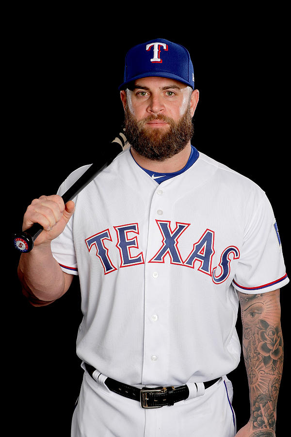 Texas Rangers Photo Day Photograph by Jamie Squire