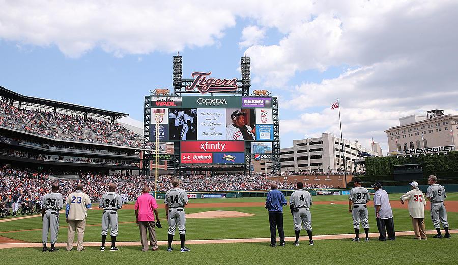Texas Rangers v Detroit Tigers Photograph by Leon Halip