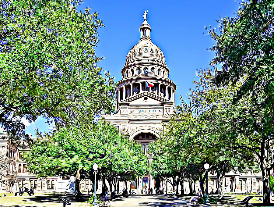 Texas State Capitol Austin by Tracy Ruckman