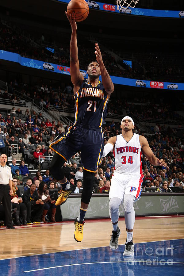 Thaddeus Young Photograph by Brian Sevald