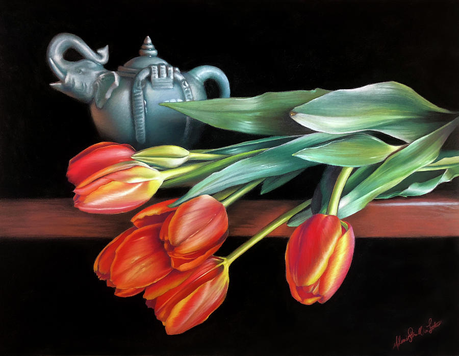 Thai Tea by Melanie Stimmell Van Latum