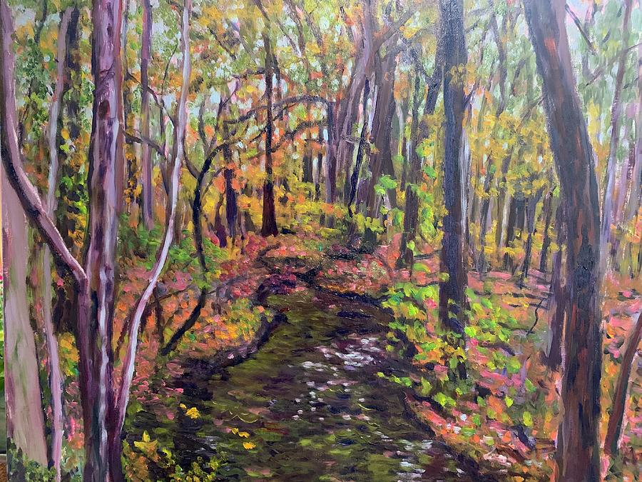 Thanksgiving woods by Beth Riso