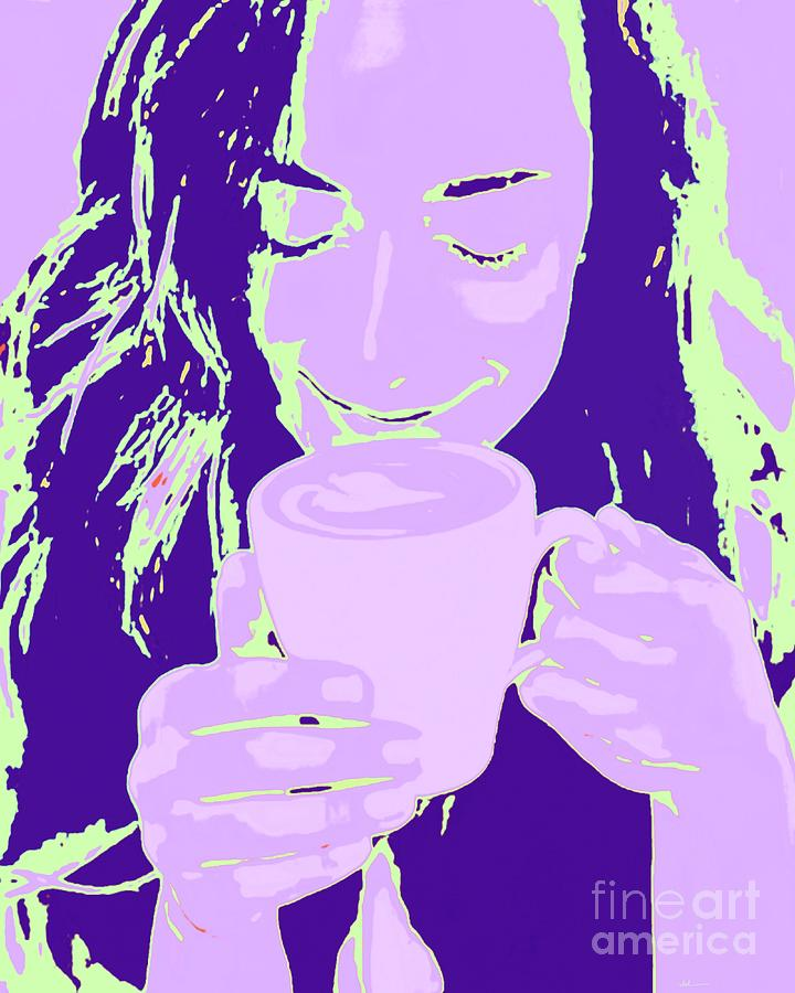 Coffee Painting - That Coffee Aroma by Jack Bunds