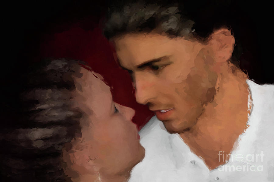That Tango Moment Painting