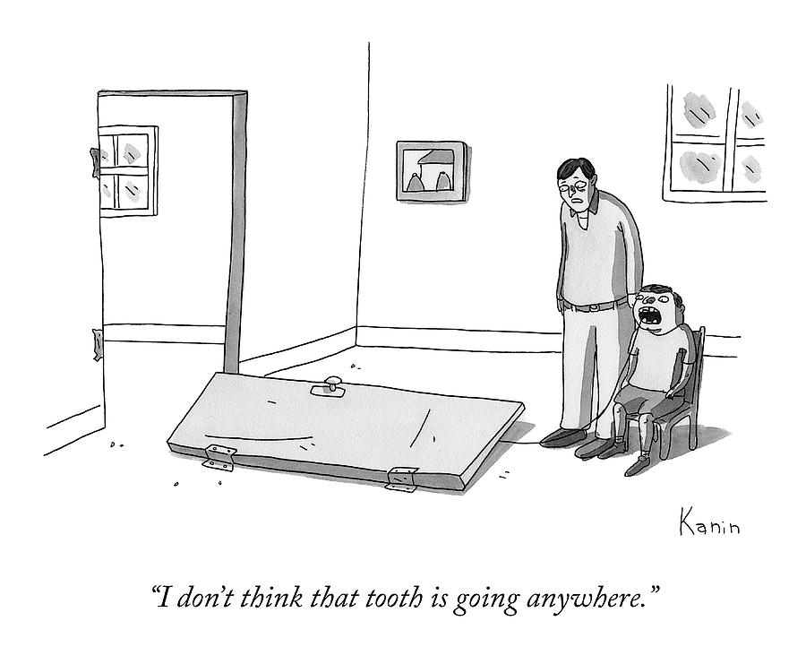 That Tooth Drawing by Zachary Kanin
