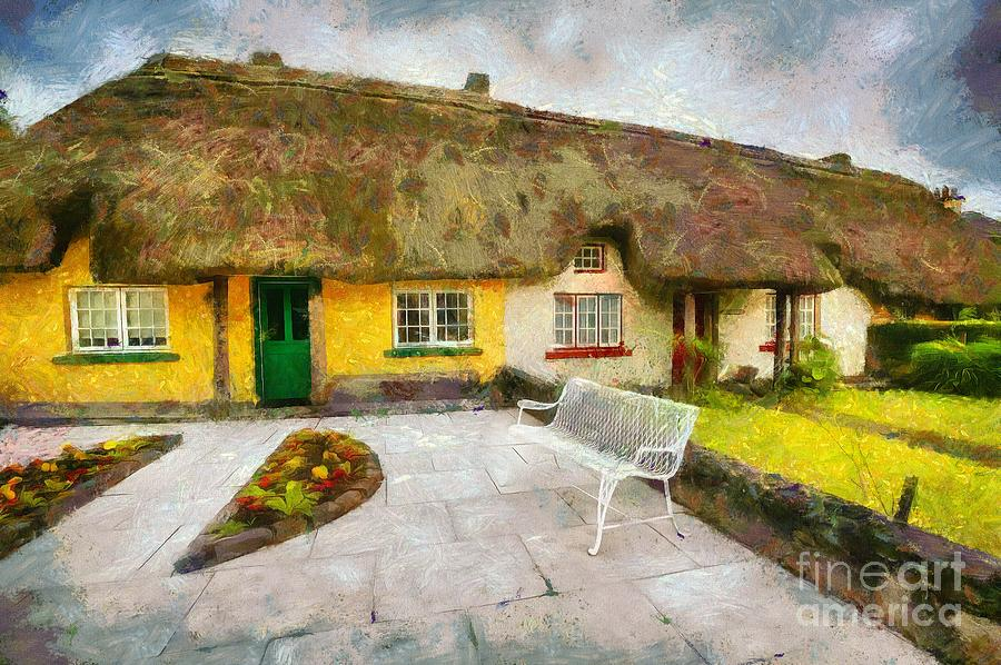 Thatched Cottages of Adare by Eva Lechner