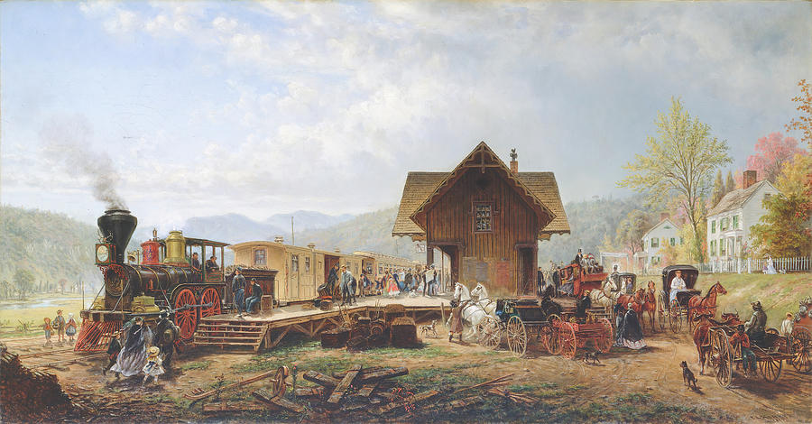 The 9-45 Accommodation Painting