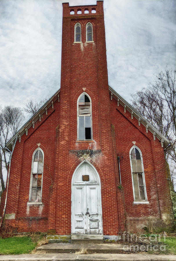 Church Photograph - The Abandonment  by Steven Digman