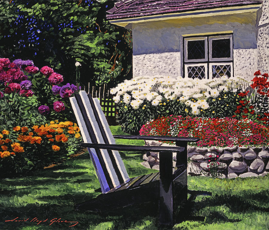 THE ADIRONDACK CHAIR by David Lloyd Glover