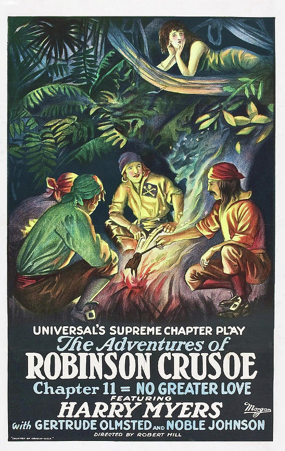 The Adventures of Robinson Crusoe by Universal Films