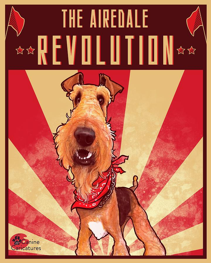The Airedale Revolution Drawing