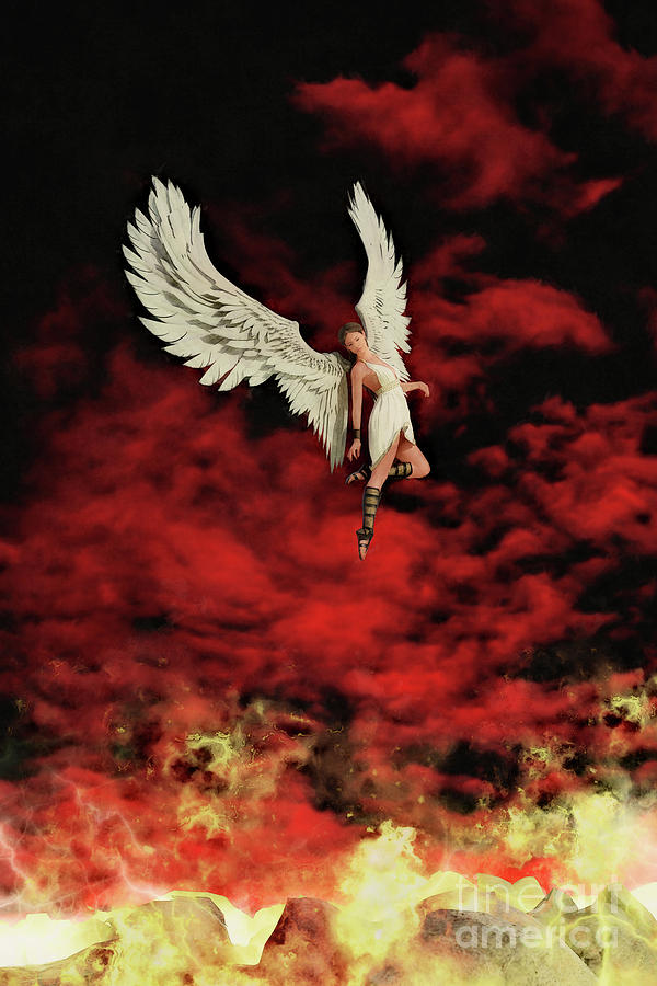 The Angel and the Flames by Clayton Bastiani