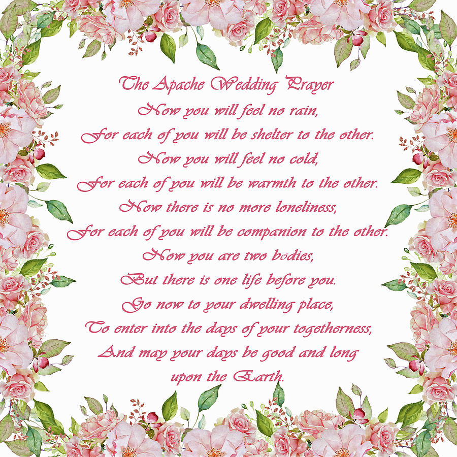 The Apache Wedding Prayer by HH Photography of Florida