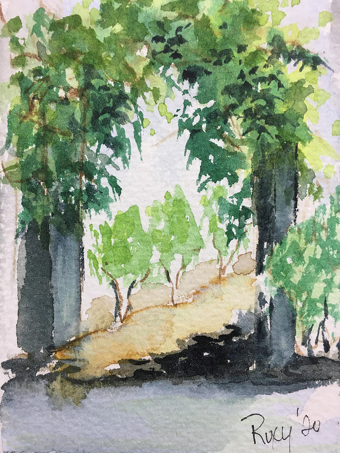 The Arch At Somerset Winery Painting