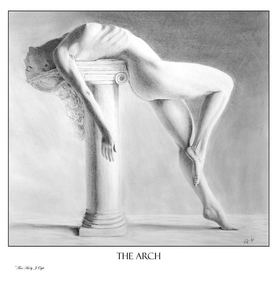Nude Painting - The Arch  print only by Joseph Ogle