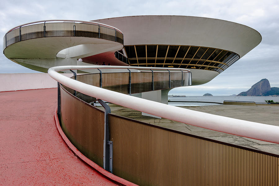 the Art Museum in Niteroi, Brazil Photograph by Studio157