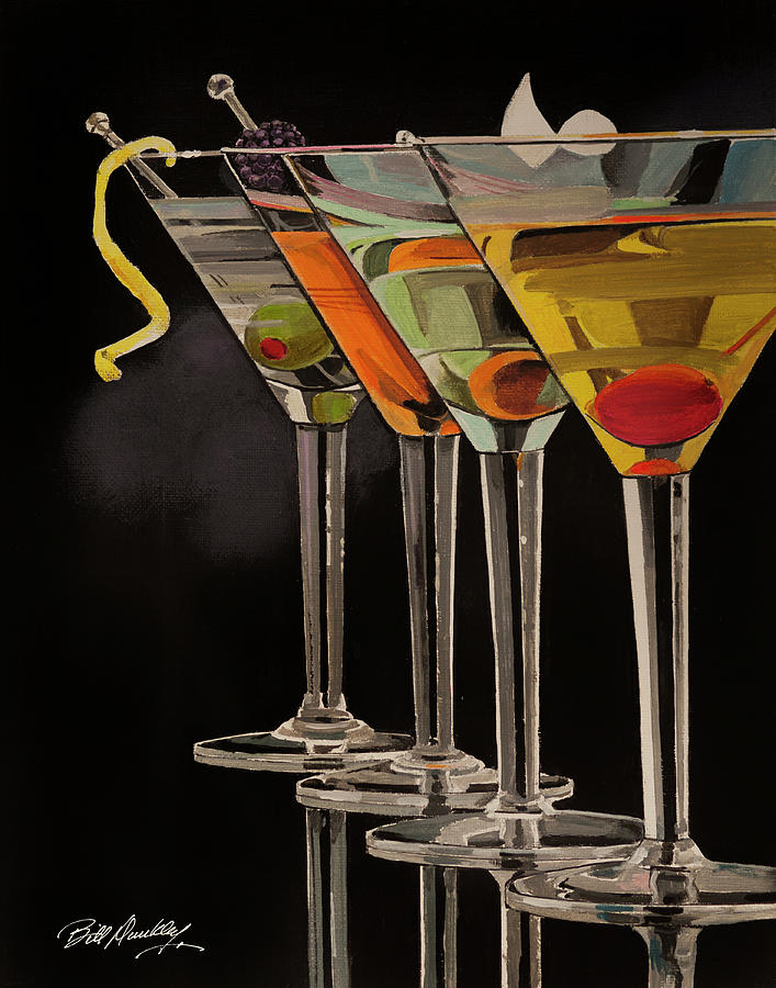 The Art of Martinis by Bill Dunkley