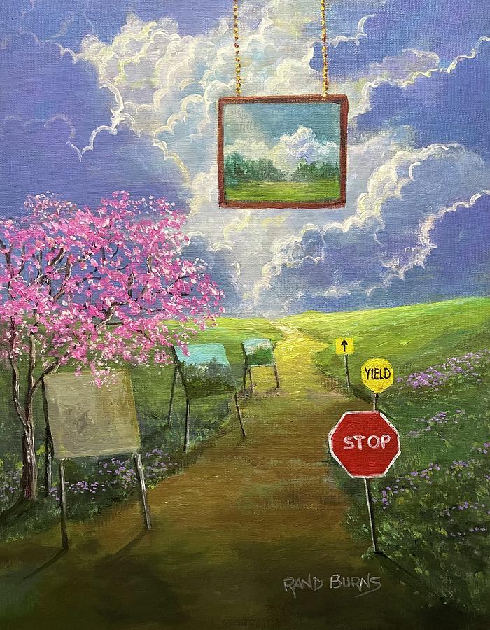 The Artist's Block.  Now Onward. by Randy Burns