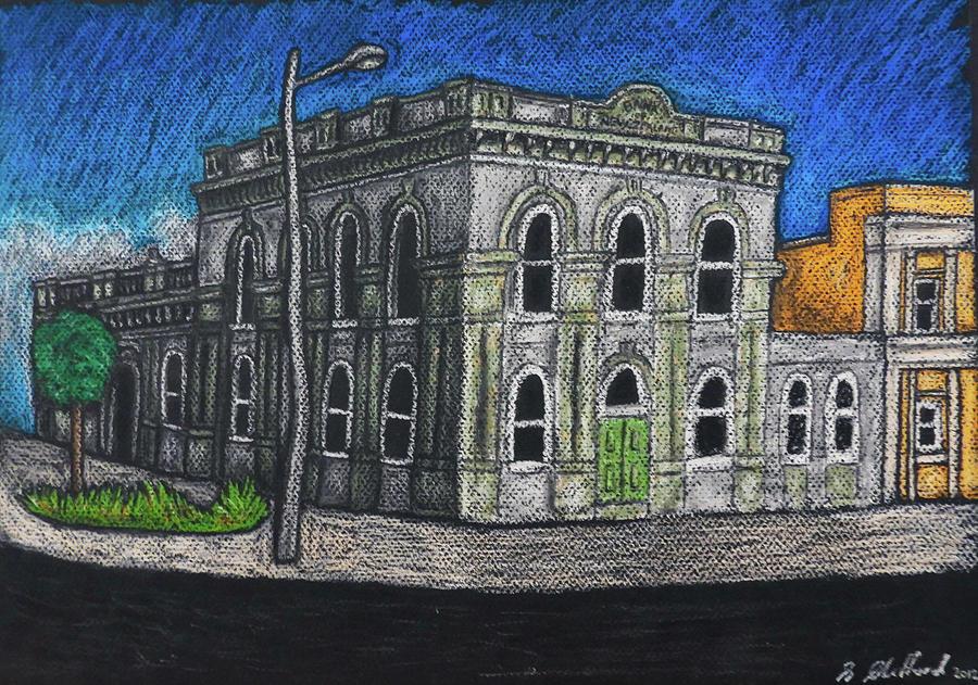 The Bank - Hamilton, New Zealand Drawing