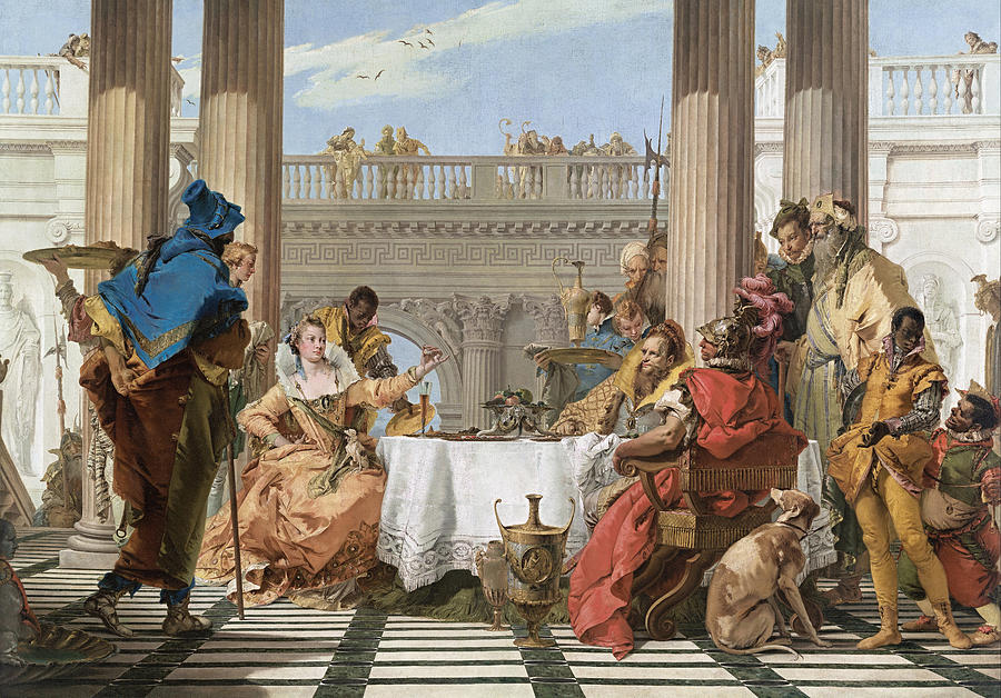 The Banquet of Cleopatra - Giovanni Battista Tiepolo by War Is Hell Store