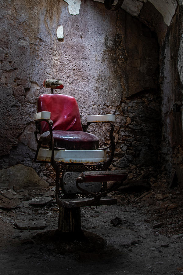 The Barber Chair by Ronald Santini