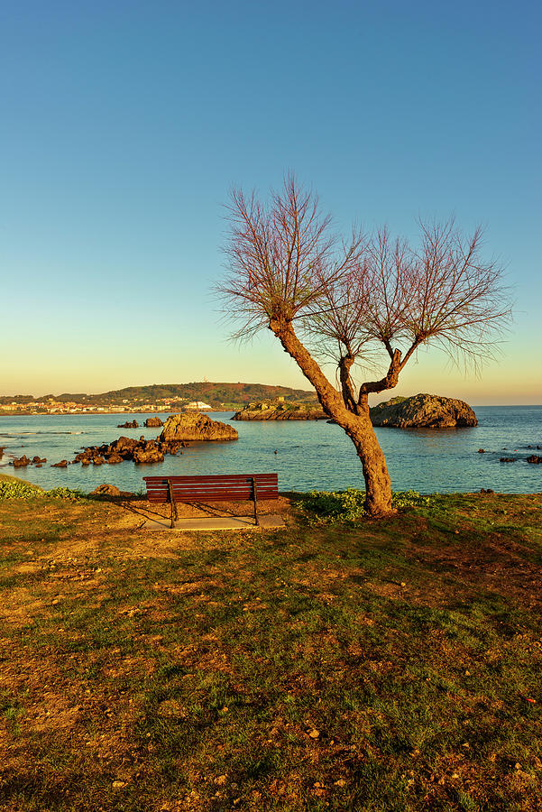 Ris Photograph - The Beach Of The Ris In Noja, Cantabria by Vicen Photography