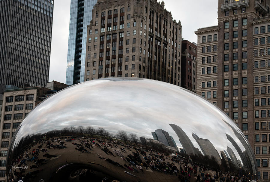 The Bean - Downtown Chicago I by Suzanne Gaff