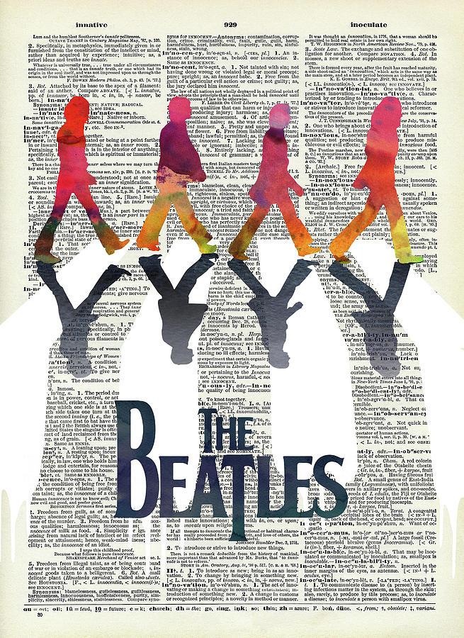 The Beatles On The Abbey Road Digital Art